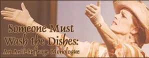 Historical Society Presents: Someone Must Wash the Dishes