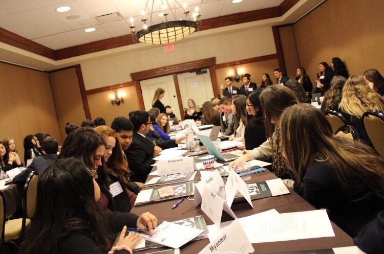 Model UN members go to annual conference, gain valuable experiences