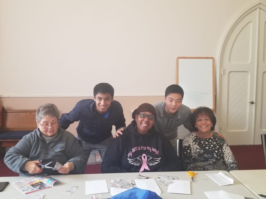 SGA students volunteer their time on MLK day