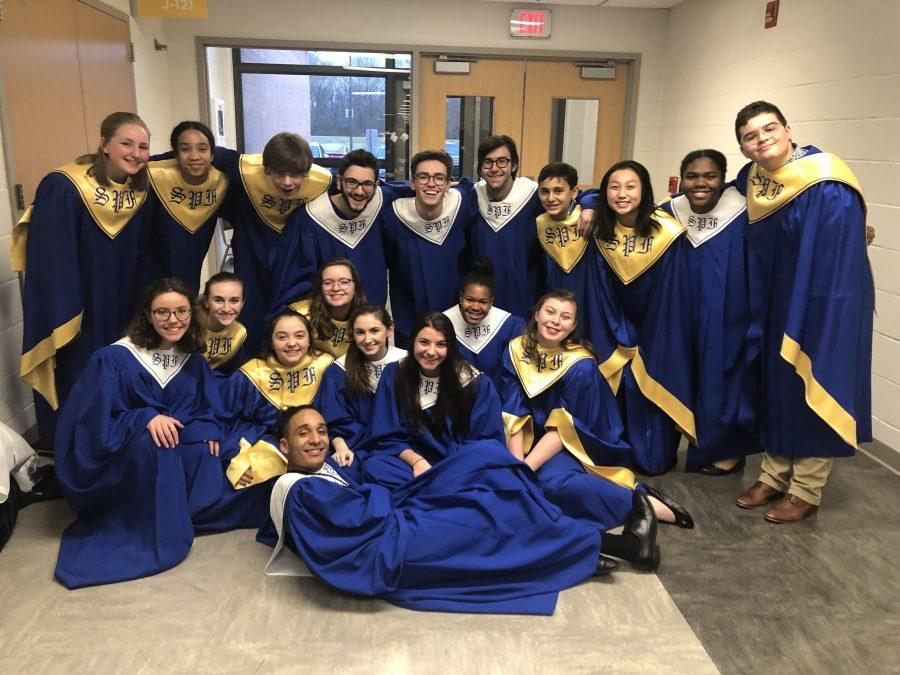 SPF Students Shine in CJMEA Region II Chorus Concert
