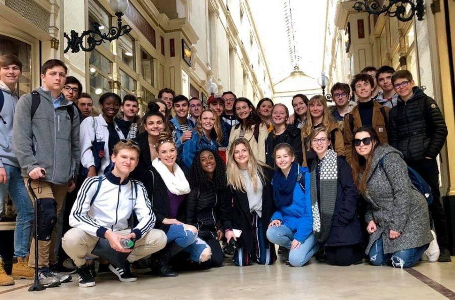 French students embark on once in a lifetime exchange trip