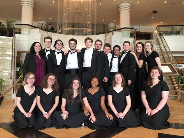 Chamber choir takes on a week of choral events