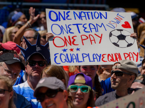 USWNT takes action against the gender wage gap
