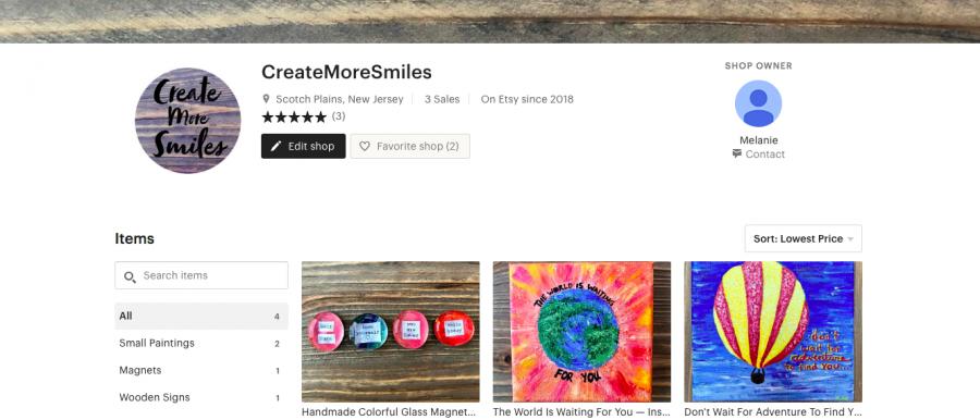"""Week One: """"CreateMoreSmiles"""" Etsy Shop"""