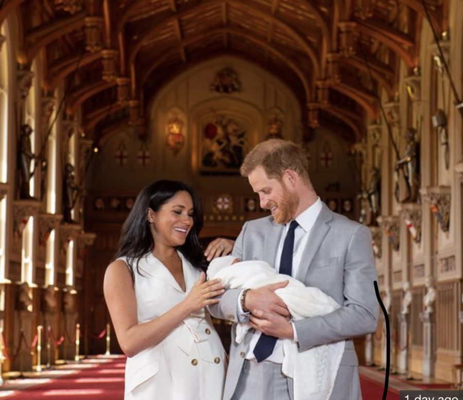 Royal family welcomes newborn Archie Harrison Mountbatten-Windsor