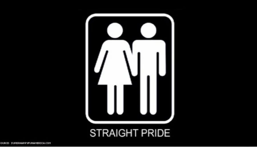 Potential straight pride says step aside