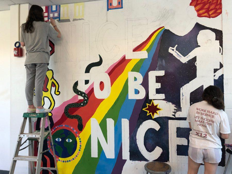SPF seniors get creative with interesting senior projects