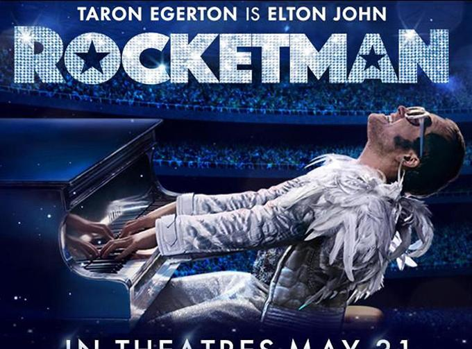 Rocketman reaches the stars