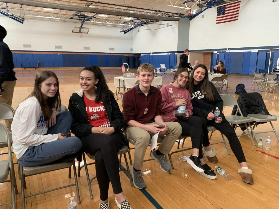 SGA collects 40 units of blood in their biannual blood drive