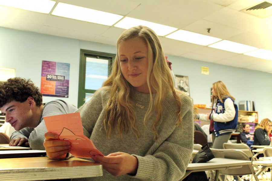 A Whole New World: SPFHS students chat with their new pen pals