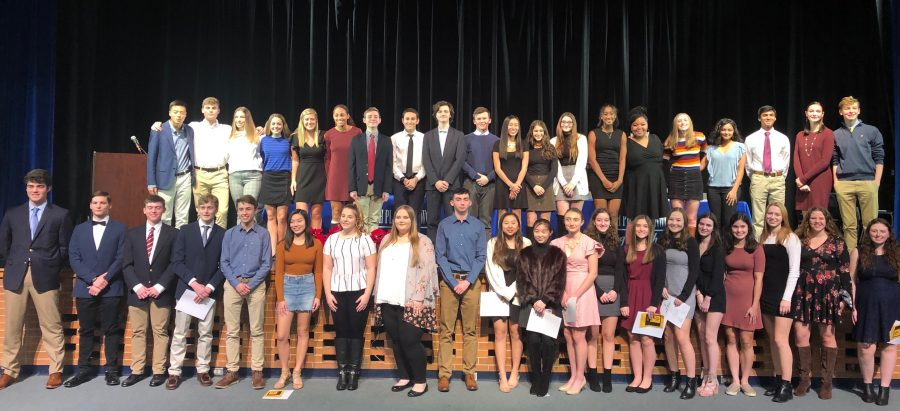 National Honors Society inducts new members