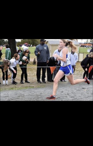 Meet one of the top varsity Track and Cross Country runners: Olivia Zambrio