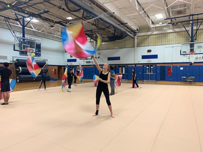 SPFHS Winterguard Welcomes New Advisor to the District