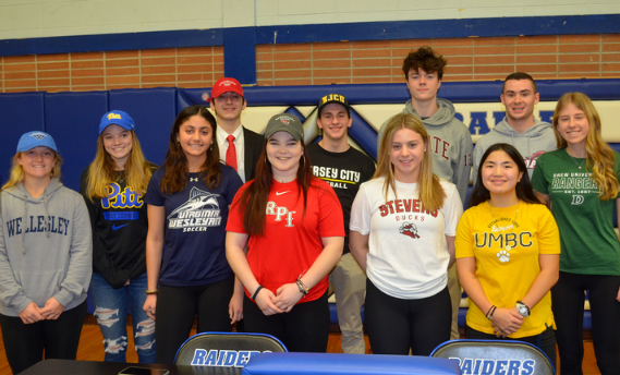 Signing day celebration for student-athletes of SPF