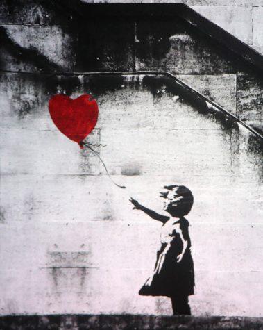 Graffiti artist Banksy pursues social justice