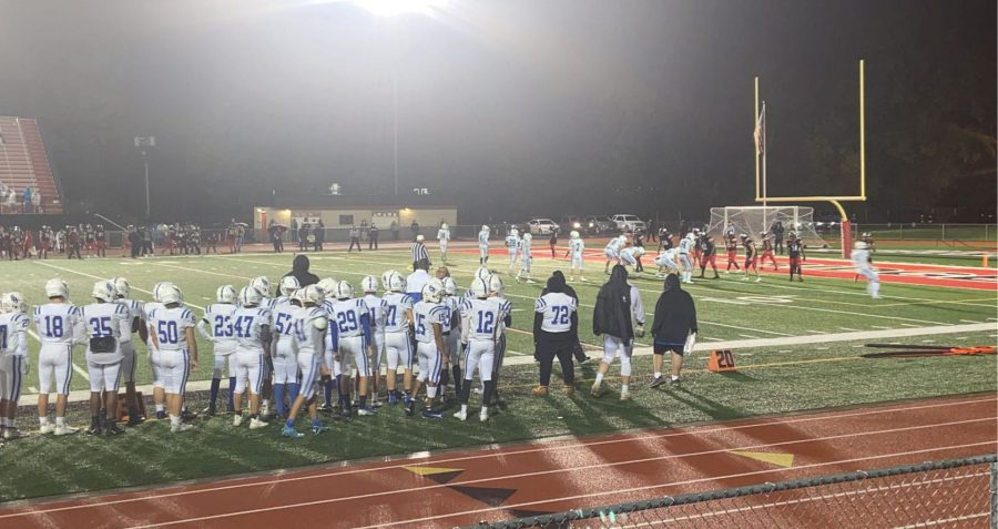 Raiders football falls 41-19 away at Woodbridge