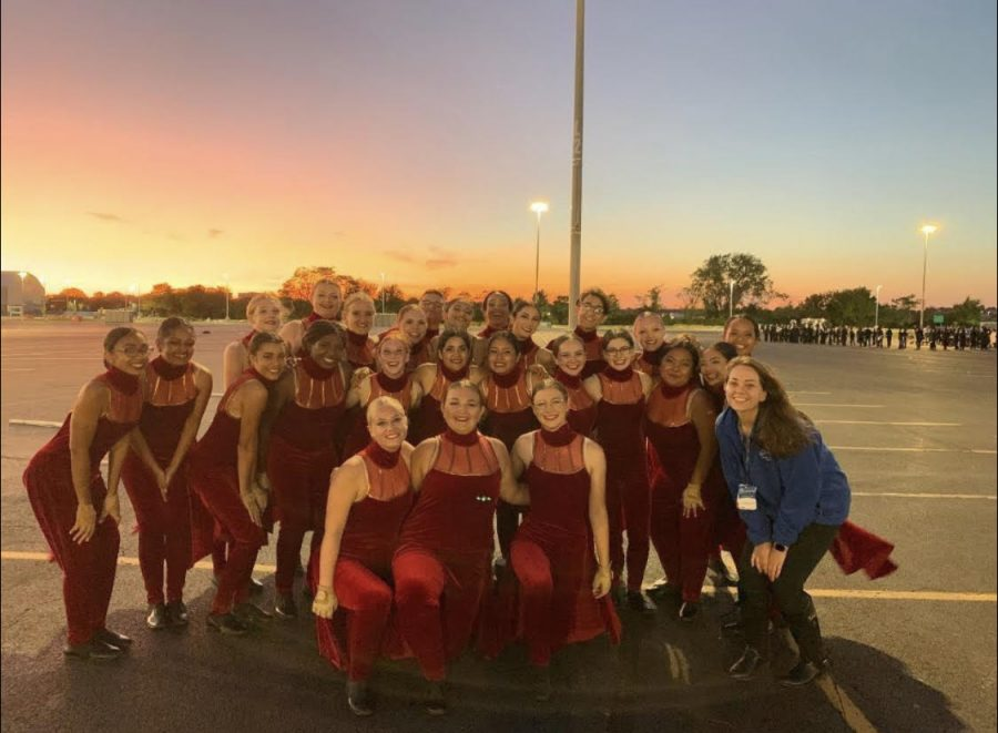 SPFHS Color Guard is missing their fall season