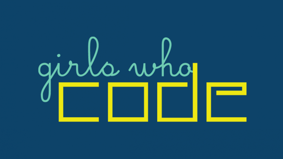 Students going digital in the Girls Who Code Club