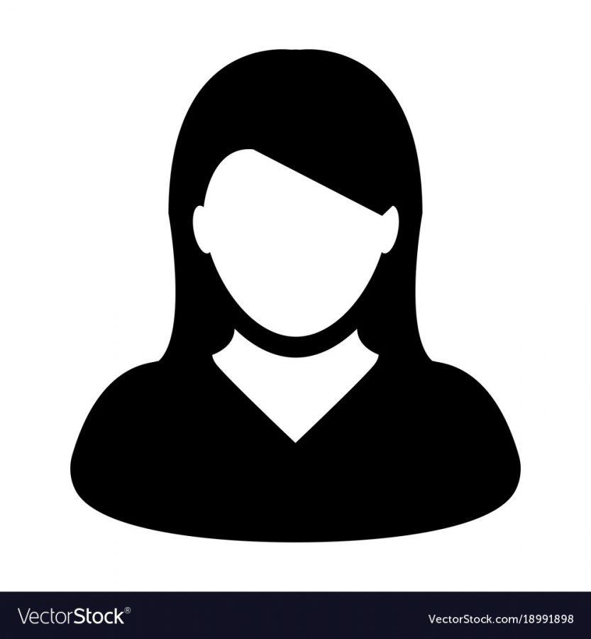 User Icon Vector Female Person Symbol Profile Avatar Sign in Flat Color Glyph Pictogram illustration