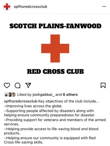 SPF Red Cross Club hosts first-time disaster kit item drive