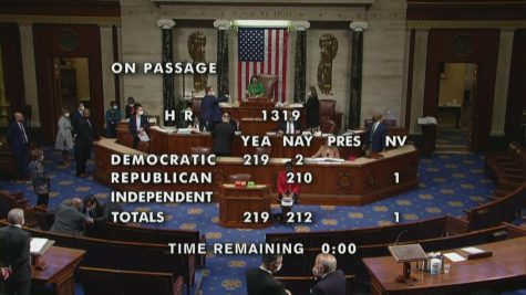 House passes $1.9 trillion COVID-19 relief bill