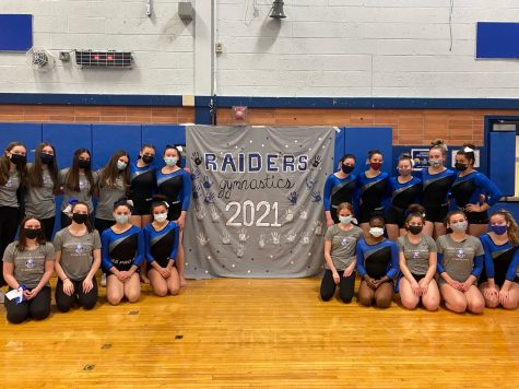 """Carrying on Traditions"": Despite COVID-19 Restrictions, Raiders Gymnastics Making Most of Season"