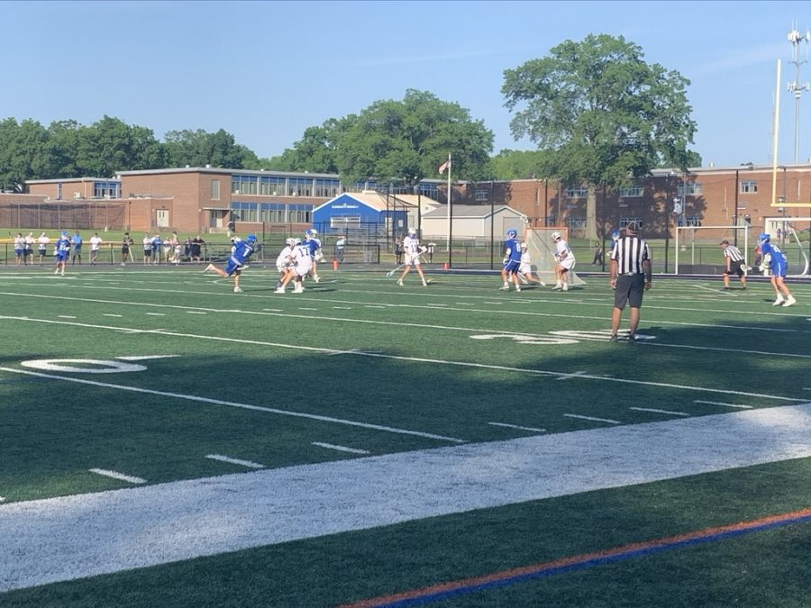 Boys Lacrosse: Raiders lose to rival Westfield Blue Devils 10-5 in County Semifinals