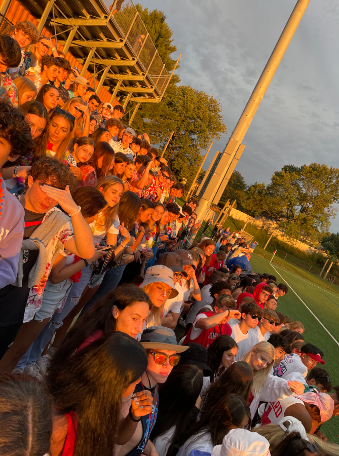 Raider Nation made an impressive turnout at the Boys soccer game on Sept. 9.