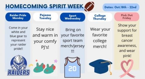 SPFHS Gears up for Homecoming with Spirit Week