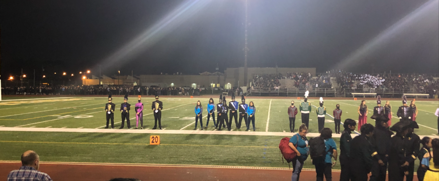 SPF Marching Band goes back in time